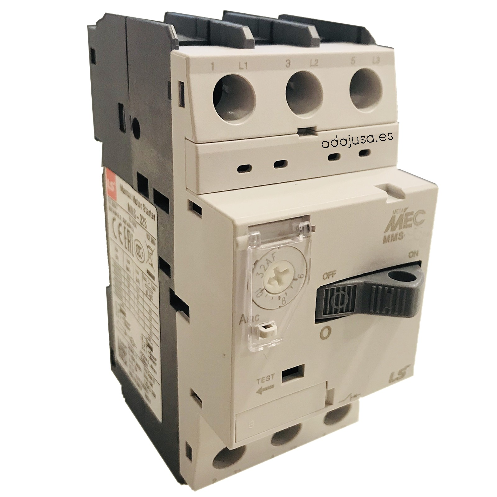 Interruttore salvamotore da 2,5 a 4 A MMS-32S - LSis