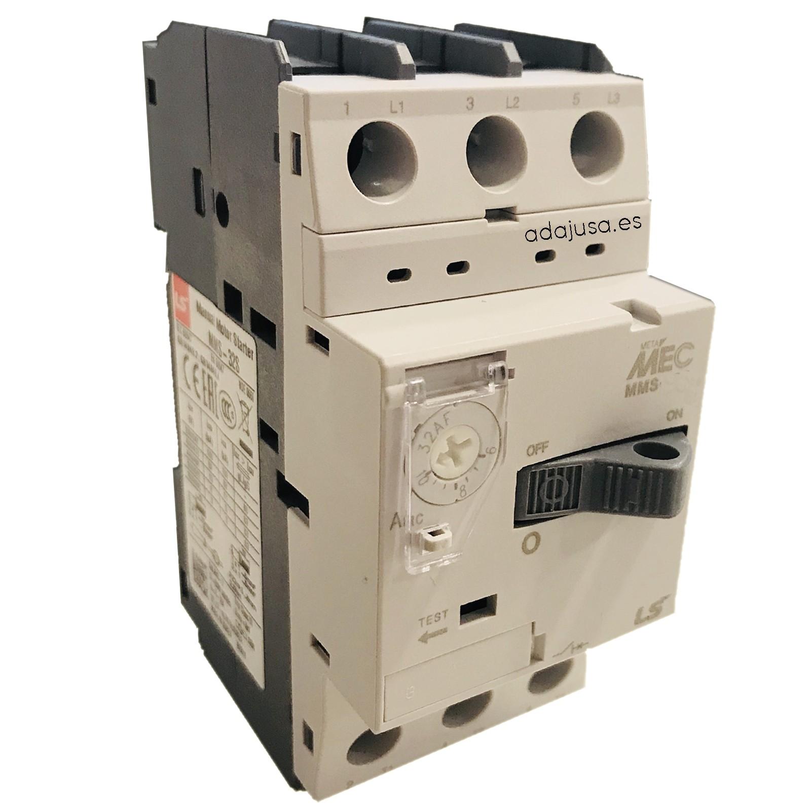 Interruttore salvamotore da 4 a 6 A MMS-32S - LSis
