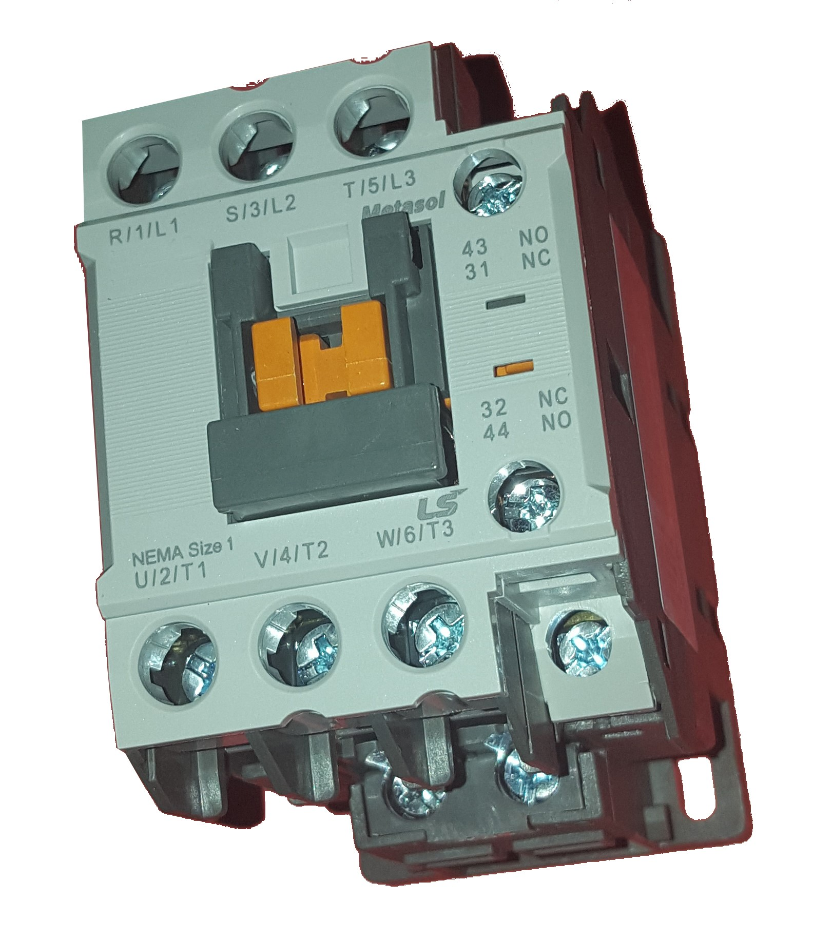 Contattore trifase 9Amp Bobina 230Vac - LSis